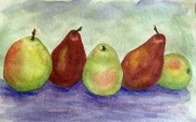 Row of Pears