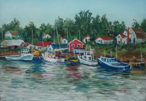 New England Fishing Village (SOLD)