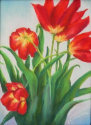 Red Tulips (SOLD)